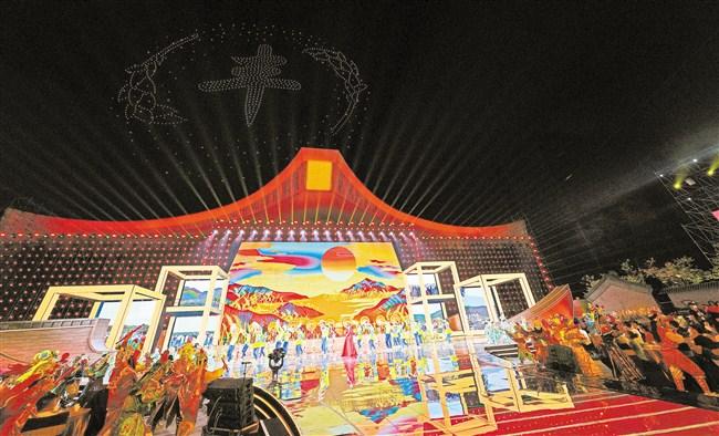 中国农民丰收节晚会精彩播出点燃激情